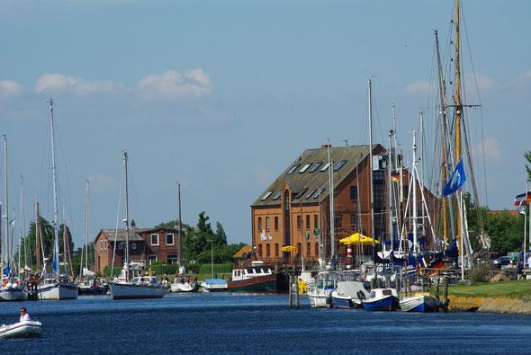Hafen von Orth auf Fehmarn