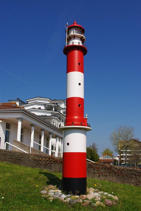 Leuchtturm am Kurmittelhaus