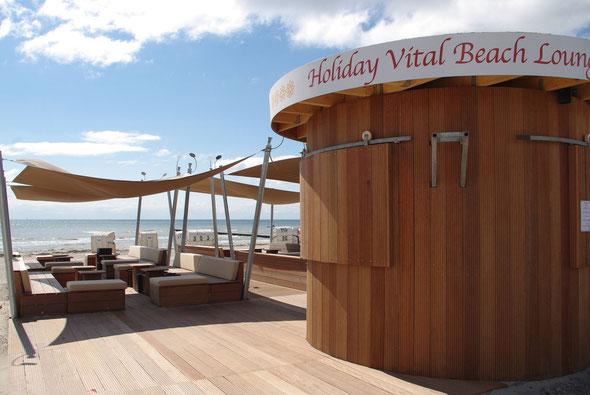 Beach-Lounge an der Seebrücke