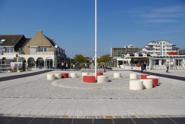 Platz vor der Seebrücke