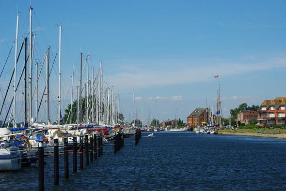 Hafeneinfahrt von Orth