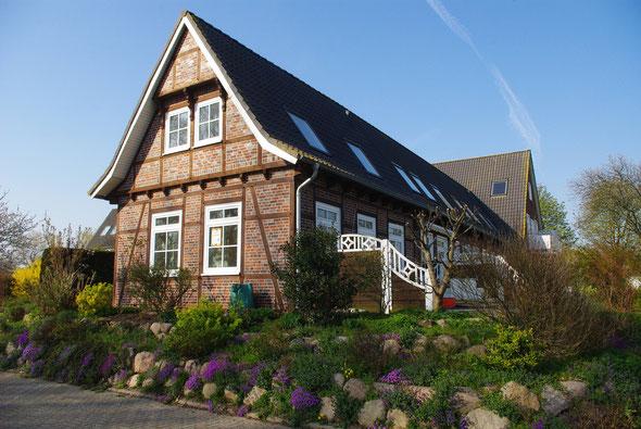 Schönes Fachwerkhaus an der Promenade