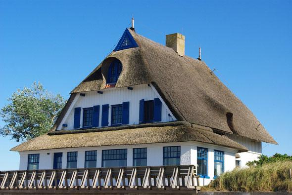 Die schönen Häuser auf dem Graswarder teilen sich fast alle