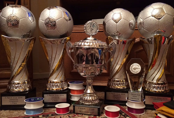 Unsere Pokale 2014