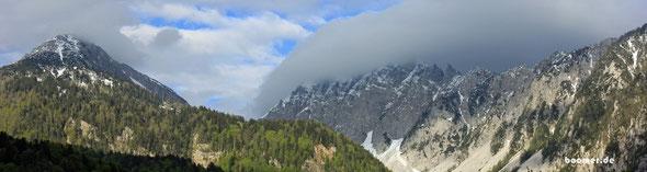 Willkommen in den Alpen