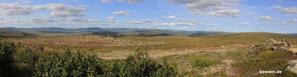 Blick vom Finger Mountain