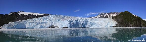 Der Aialik Gletscher