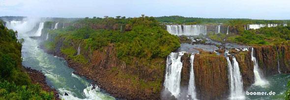 ... und das ist immer noch nur ein Bruchteil der gesamten Wasserfälle
