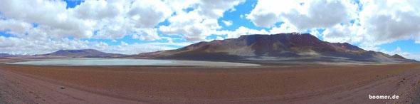 grandioses Panorama an einer der vielen Lagunen