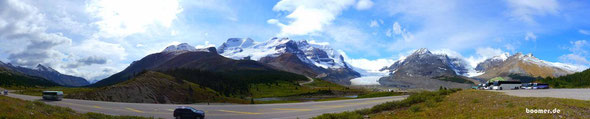 Columbia Icefield im Banff Nationalpark