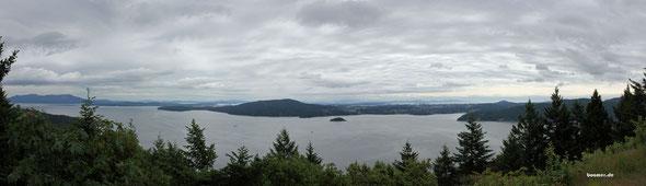 Entlang der Küste auf Vancouver Island