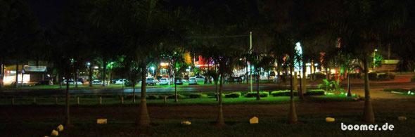 Samstag Nacht an der Routa 7 in Paraguay