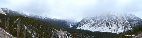 Zwischen Banff und Jasper