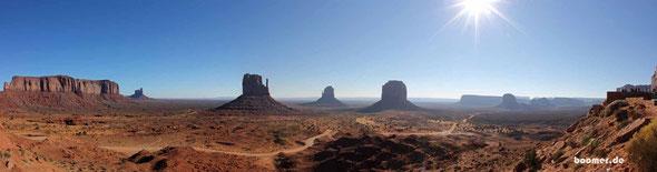 das legendäre Monument Valley