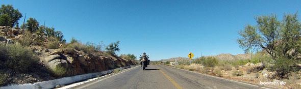 Unterwegs auf der MEX 1