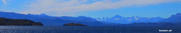 Bergkulisse am Lago Carerra General