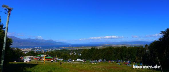 Blick über Ushuaia