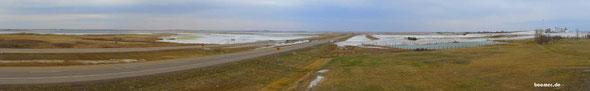 Salzsee in Saskatchewan