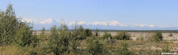 Aussicht auf die Alaska Range