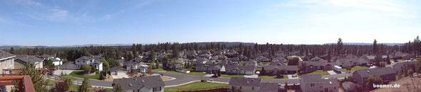Aussicht von Karens Terrasse