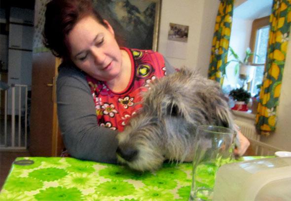 Sandra Mayrwöger ist die Starstone-Mum ...