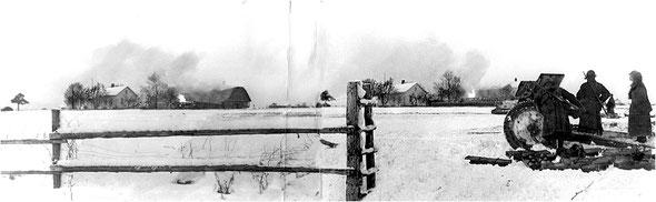 Финская война. Первый день. Фото Д. Трахтенберга.