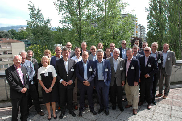 Founding members at constitution of AGES, June 24, 2014, Geneva