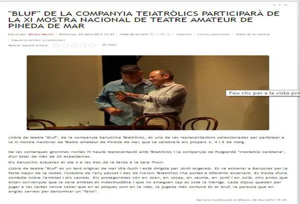 Banyoles Televisió (24/04/2013)