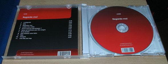 Booklet und CD