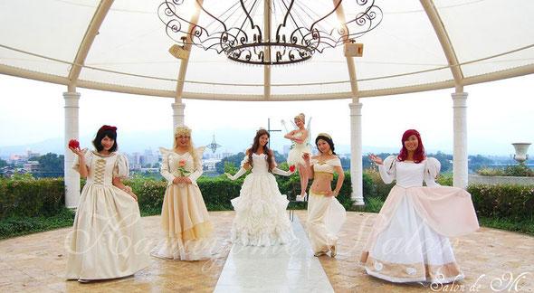 プリンセス キャラ コスプレ 仮装 ブライダル インナー ウェディング ドレス 下着 結婚