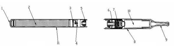 Рис.2 Схематическая диаграмма разобранной сигареты