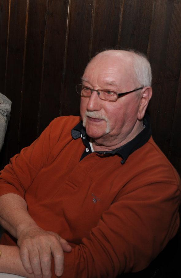Sylvio lors du souper annuel en février 2017 au restaurant des mines à Travers.