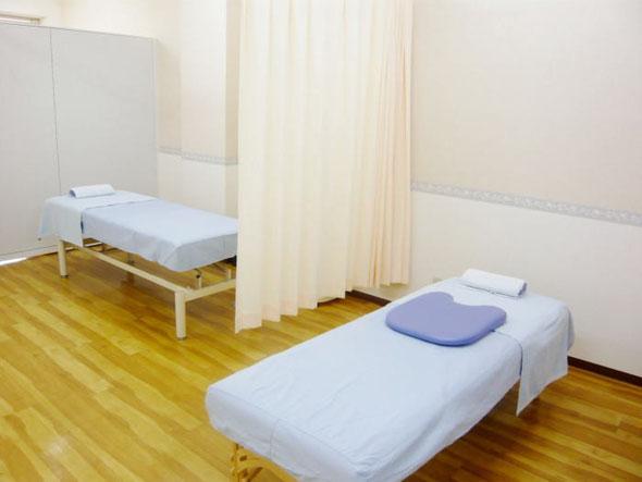 ゆったりした治療室