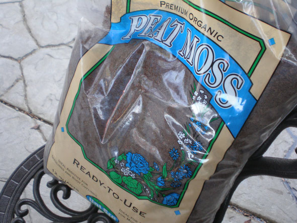 This is the peat moss I used.