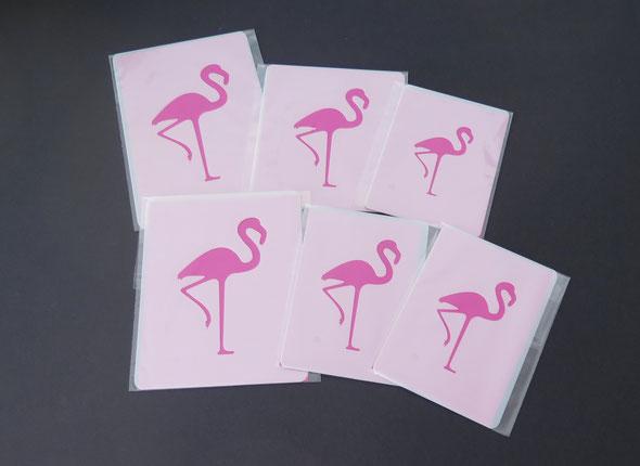 Flamingo Motiv
