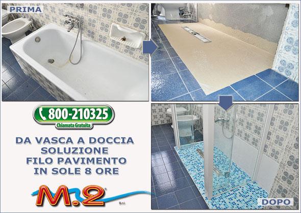 Vasca idromassaggio doppia filo pavimento la scelta - Vasca da bagno pavimento ...