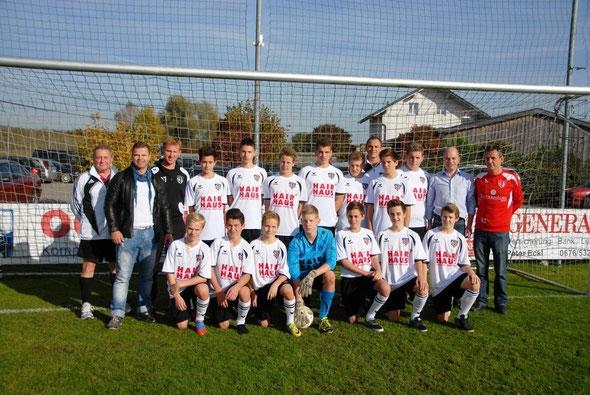 U16 Fussballmanschaft