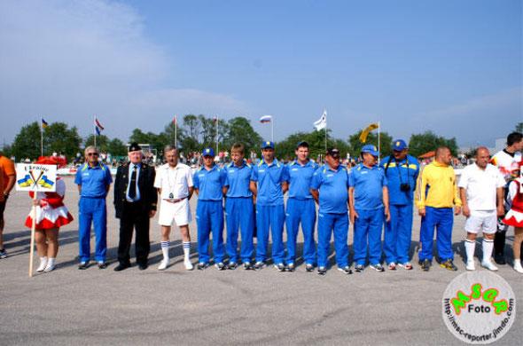 Nationalmannschaft Ukraine bei der EM 2012 in Deutschland