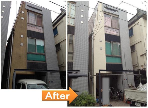 外壁塗装 新宿区