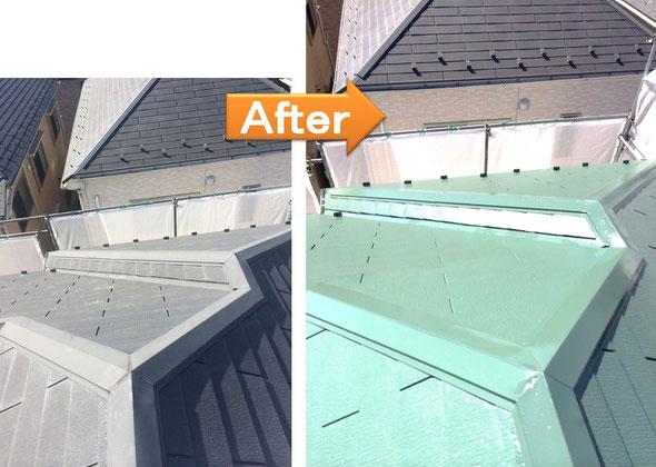 屋根塗装 東久留米市