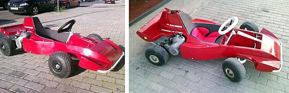 """Kart MTK - Ducati 48, Modelos """"Formula"""" restaurados al detalle"""