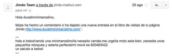 Texto enviado por Felipe Vigo Enguidanos a ésta web!