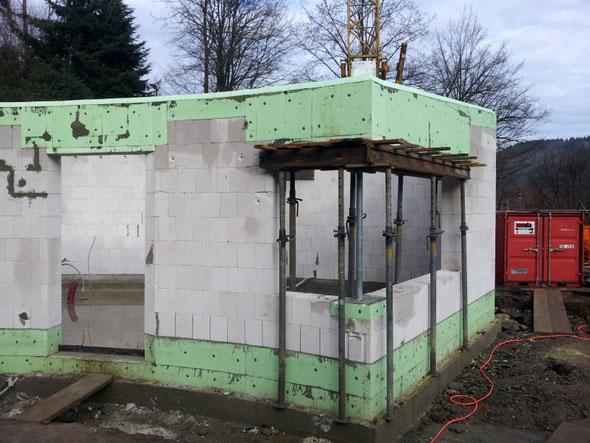 Der Kassen-und Kioskbereich, noch nicht ganz fertig!