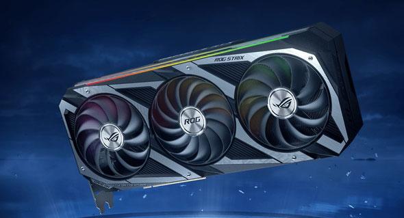 ASUSが発表しているRTX30シリーズ