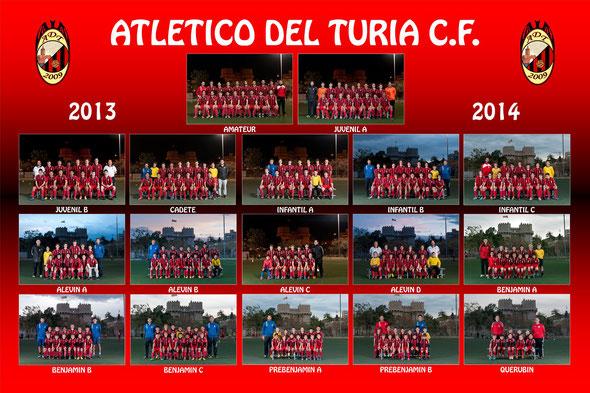 Atlético del Turia, fútbol 8, fútbol 11