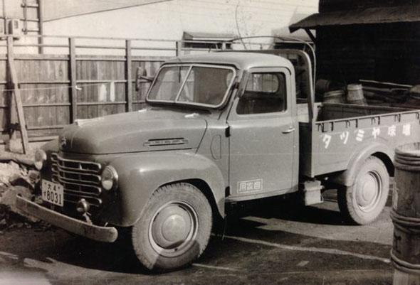 昭和30年頃、利用していたオオタ自動車(くろがね自動車の前身)オオタKC型トラック