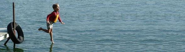水の上を歩ける少年? ホンの一瞬、誰でも水の上に立てる。by 夫婦円満コンサルタントR 中村はるみ