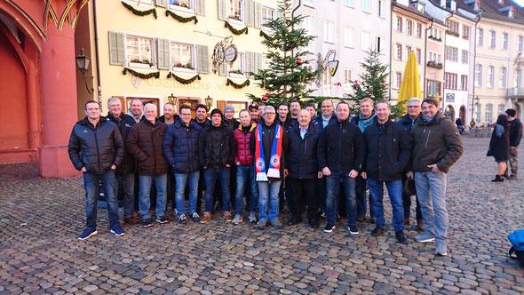 SG AH auf Abschlusstour Nov. 2018 in Freiburg