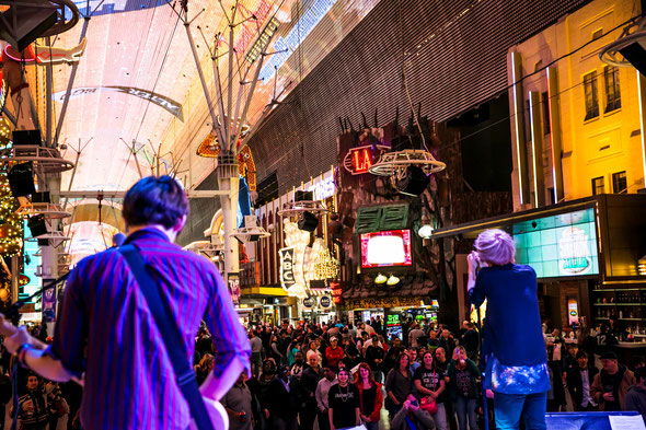 The third winner iNtElogiQ at Fremont Street Experience in Las Vegas 2015