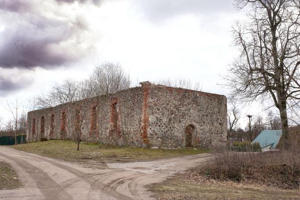 Kirche in Kussen, Kreis Pillkallen